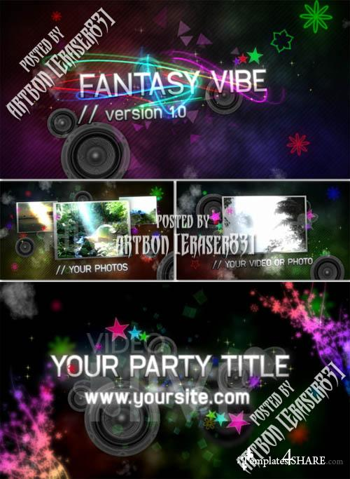Fantasy Vibe V1 - Full HD - Project for After Effects (Videohive)