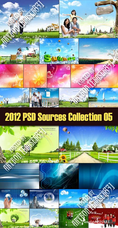 2012 PSD Sources Collection 05