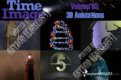 Time Image Volume 03: 3D Animations (NTSC)