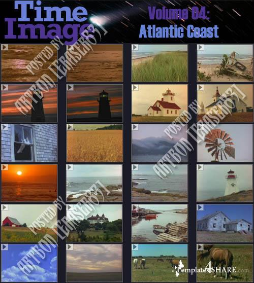 Time Image Volume 04: Atlantic Coast (NTSC)