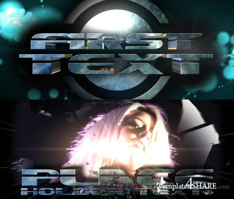 """Sci-Fi TrailerV3 """"3D TEXT"""" - Project for After Effects (Videohive)"""