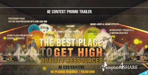 Contest Promo Trailer - Project for After Effects (Videohive)