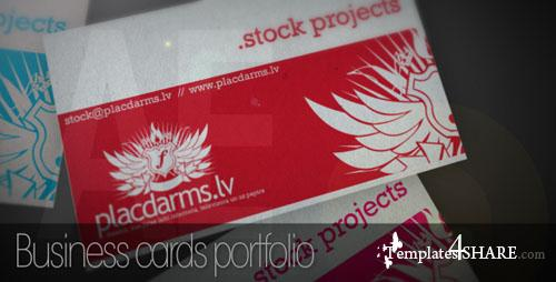 Business cards mock-up - Project for After Effects (Videohive)