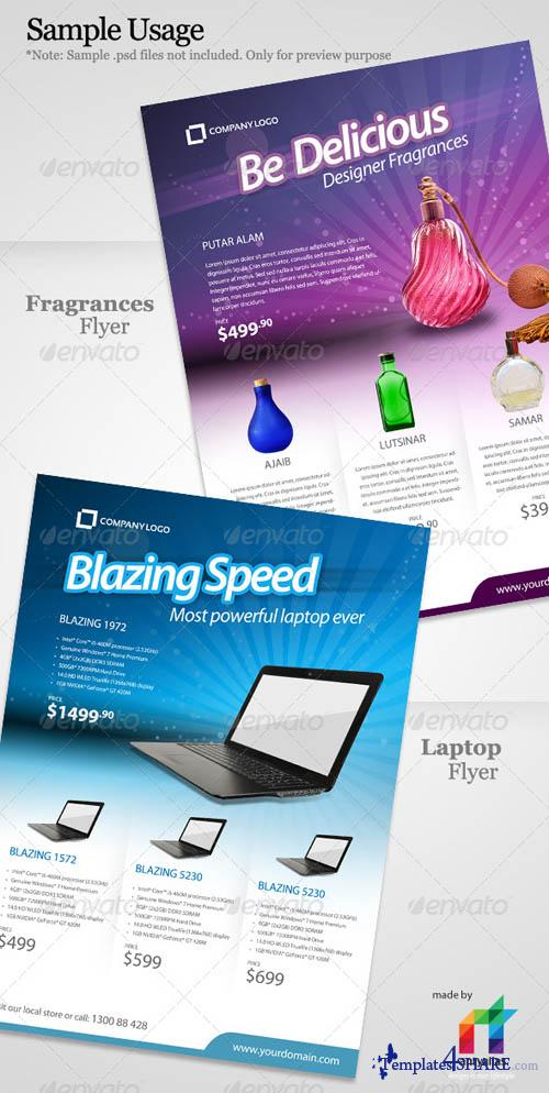GraphicRiver Elegant Product Flyer - A4