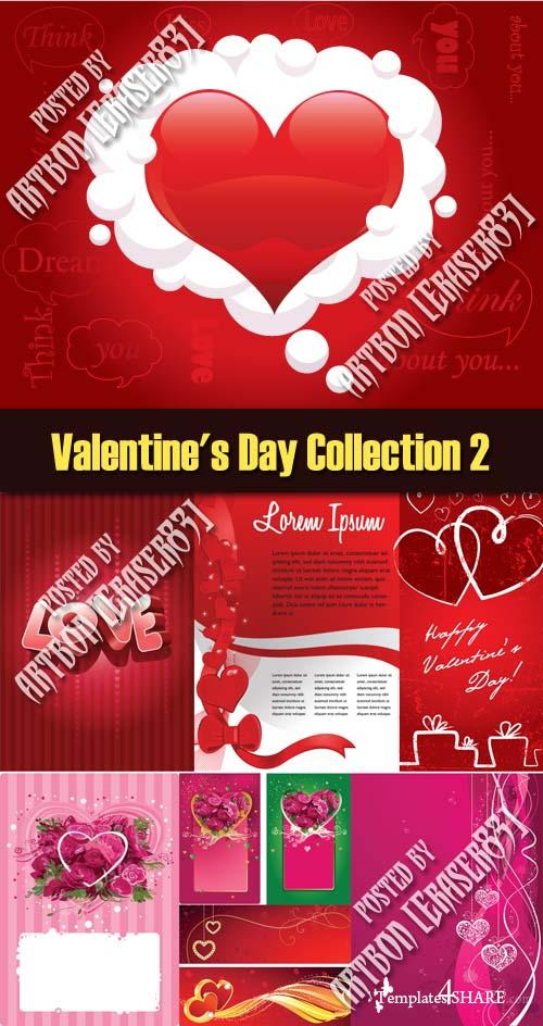 Valentine's Day Vector Collection 2