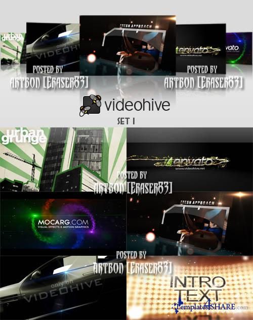 Videohive Projects Pack - Set 1 - REUPLOAD