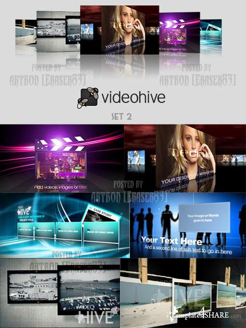 Videohive Projects Pack - Set 2 - REUPLOAD
