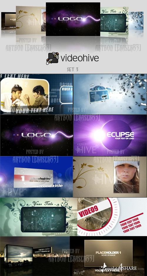 Videohive Projects Pack - Set 3 - REUPLOAD