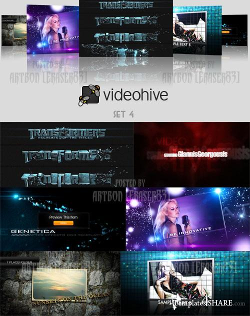 Videohive Projects Pack - Set 4 - REUPLOAD