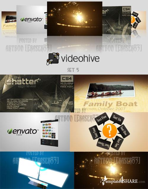 Videohive Projects Pack - Set 5 - REUPLOAD