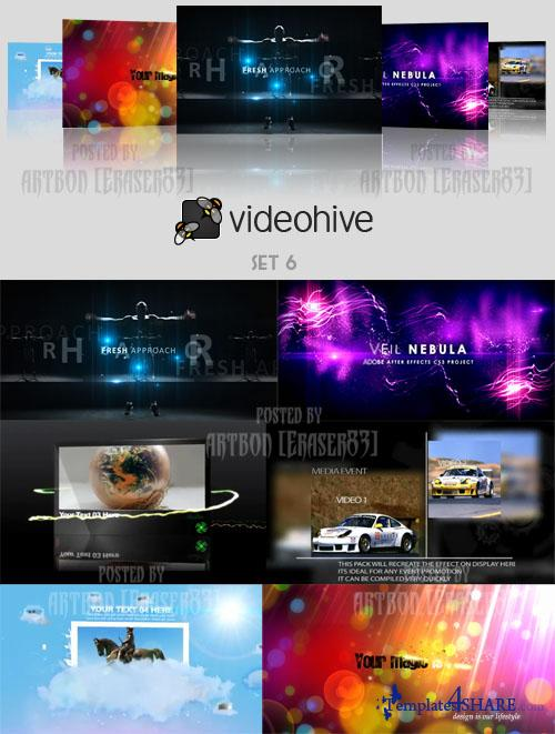 Videohive Projects Pack - Set 6 - REUPLOAD