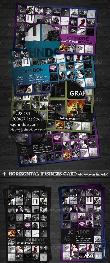 GraphicRiver Portfolio Business Card 2.0 - REUPLOAD