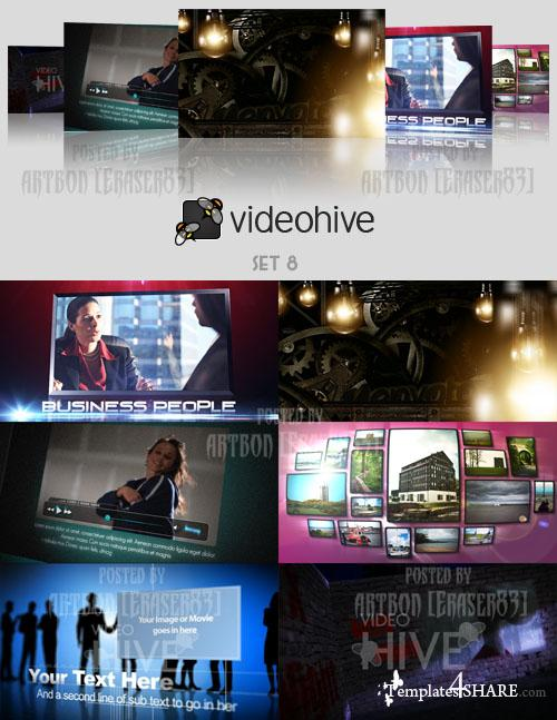 Videohive Projects Pack - Set 8 - REUPLOAD