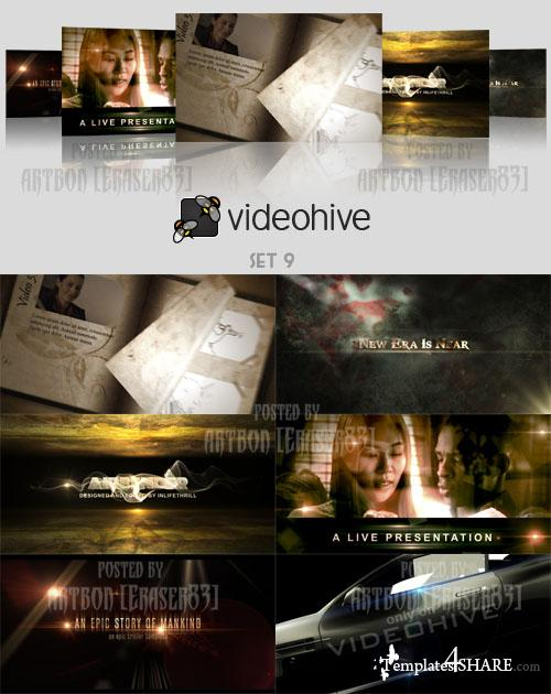 Videohive Projects Pack - Set 9 - REUPLOAD