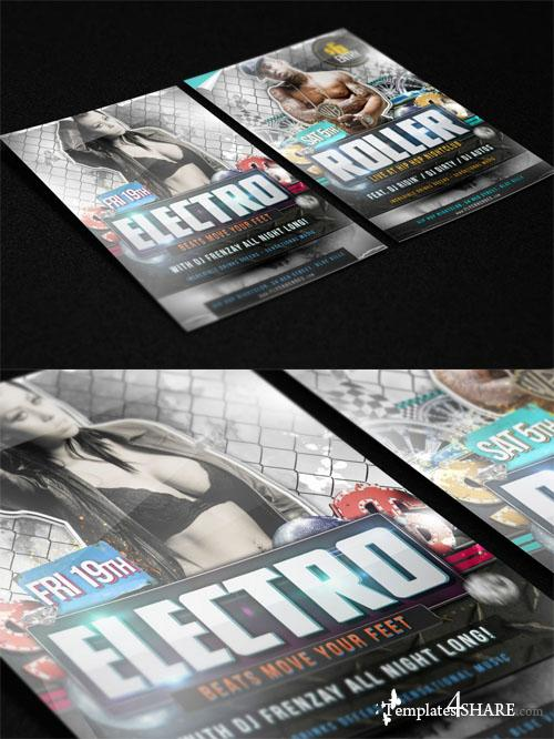 Photorealistic Flyer / Poster Mockup Vol.2 (Free PSD)