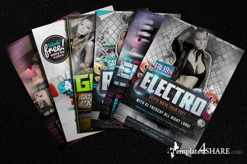 Photorealistic Flyer / Poster Mockup Vol.3 (Free PSD)