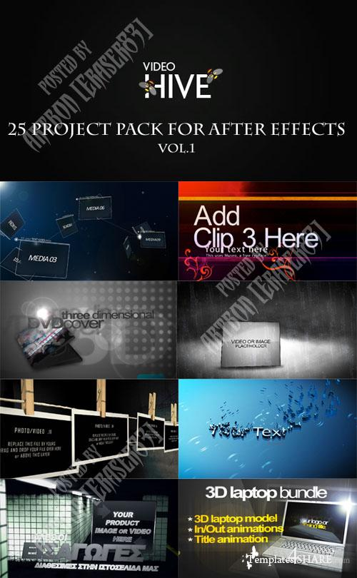 25 Project Pack for After Effects Vol.1 (Videohive) - REUPLOAD