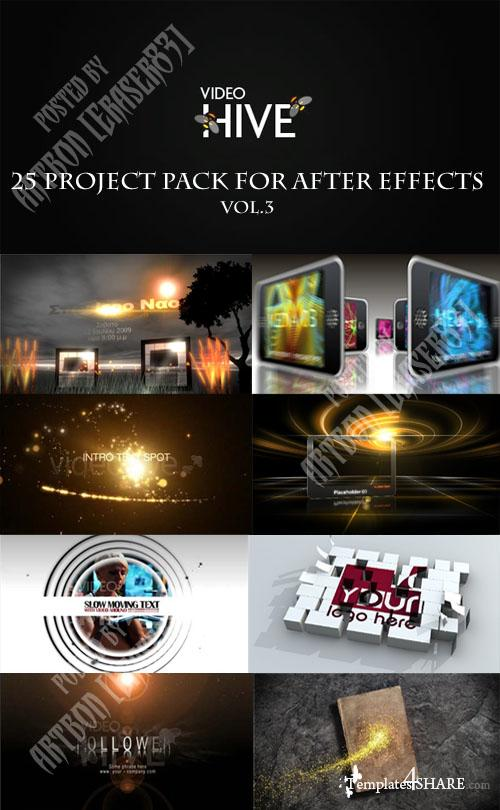 25 Project Pack for After Effects Vol.3 (Videohive) - REUPLOAD