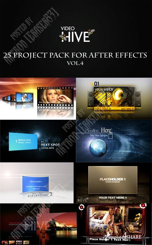 25 Project Pack for After Effects Vol.4 (Videohive) - REUPLOAD