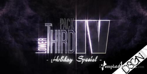 "Lower Third Pack Vol.4 - ""HOLIDAY SPECIAL"" FullHD - Project for After Effects (Videohive)"