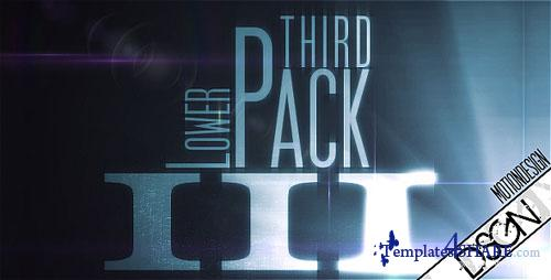 Lower Third Pack Vol.3 FullHD - Project for After Effects (Videohive)
