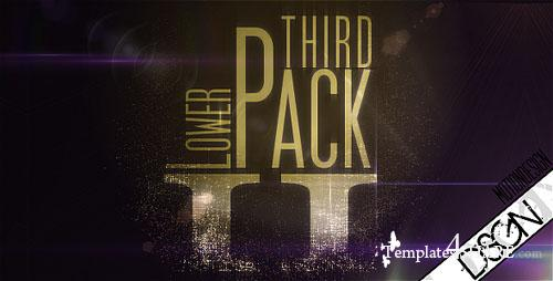 Lower Third Pack Vol.2 FullHD - Project for After Effects (Videohive)