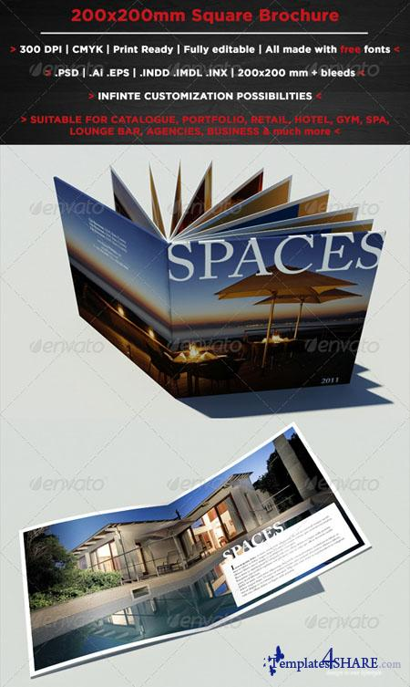 GraphicRiver Square Brochure Booklet - REUPLOAD