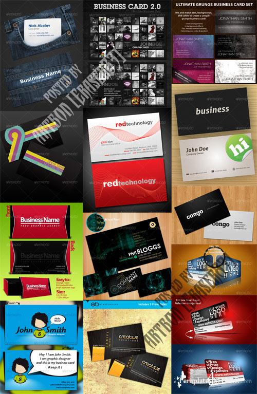 GraphicRiver Business Cards Pack - REUPLOAD