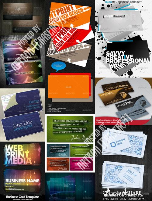 GraphicRiver Business Cards Pack 2 - REUPLOAD
