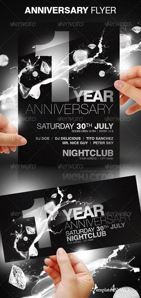 GraphicRiver Anniversary Party Flyer - REUPLOAD
