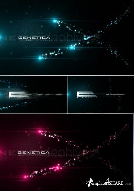 Genetica - Project for After Effects (Videohive) - REUPLOAD