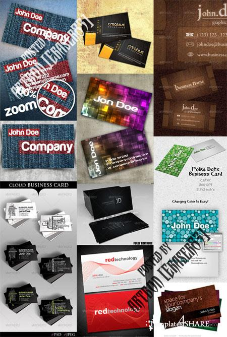GraphicRiver Business Cards Pack 3 - REUPLOAD