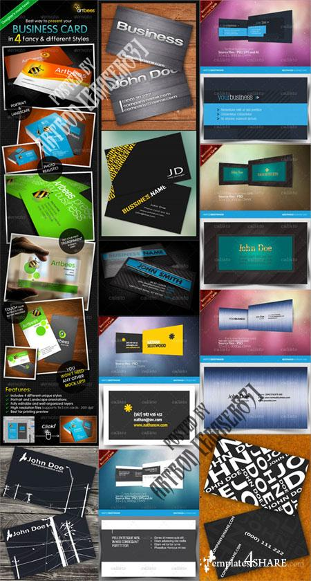 GraphicRiver Business Cards Pack 4 - REUPLOAD