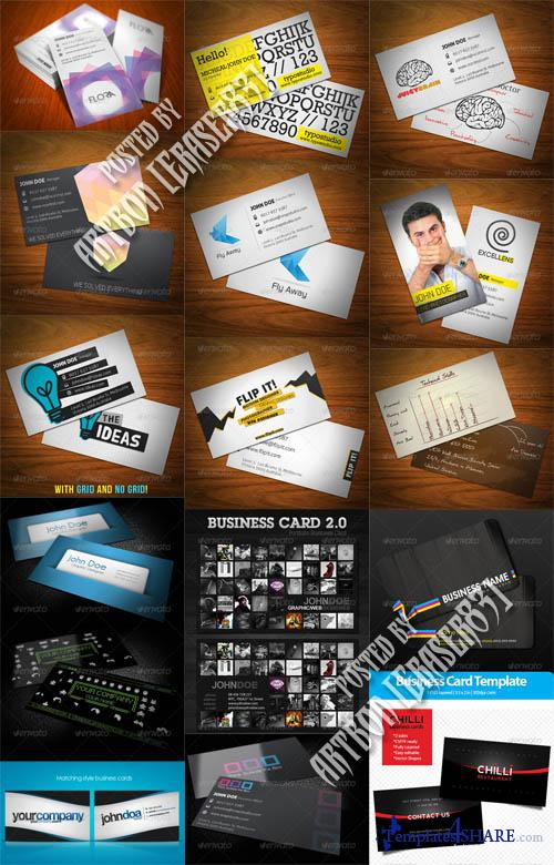 GraphicRiver Business Cards Pack 5 - REUPLOAD