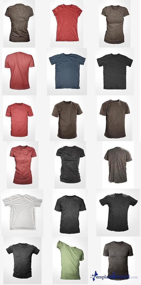 Go Media's Arsenal: Distressed Shirt Mockup Templates (PSD) - REUPLOAD