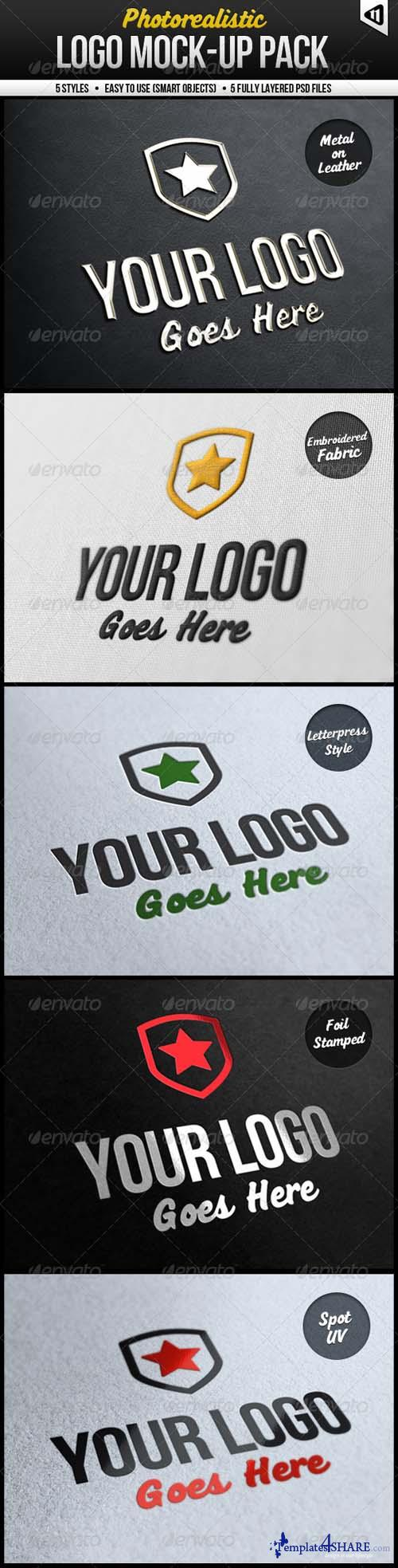 Graphicriver Photorealistic Logo Mock-Up Pack - REUPLOAD