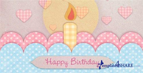 Happy Birthday Card - Project for After Effects (VideoHive)