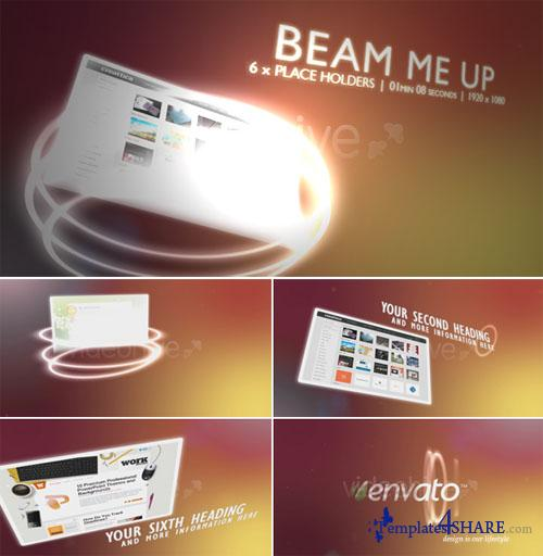 Beam me up - Project for After Effects (Videohive)