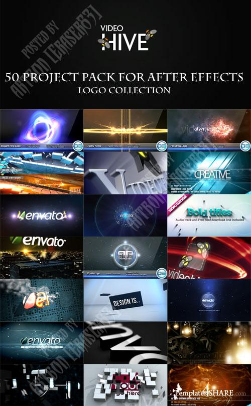 50 Project Pack for After Effects - Logo Collection - REUPLOAD