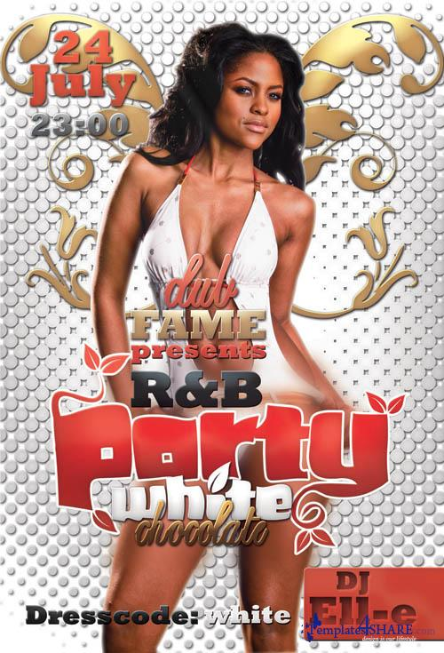 R&B Party Flyer (PSD)