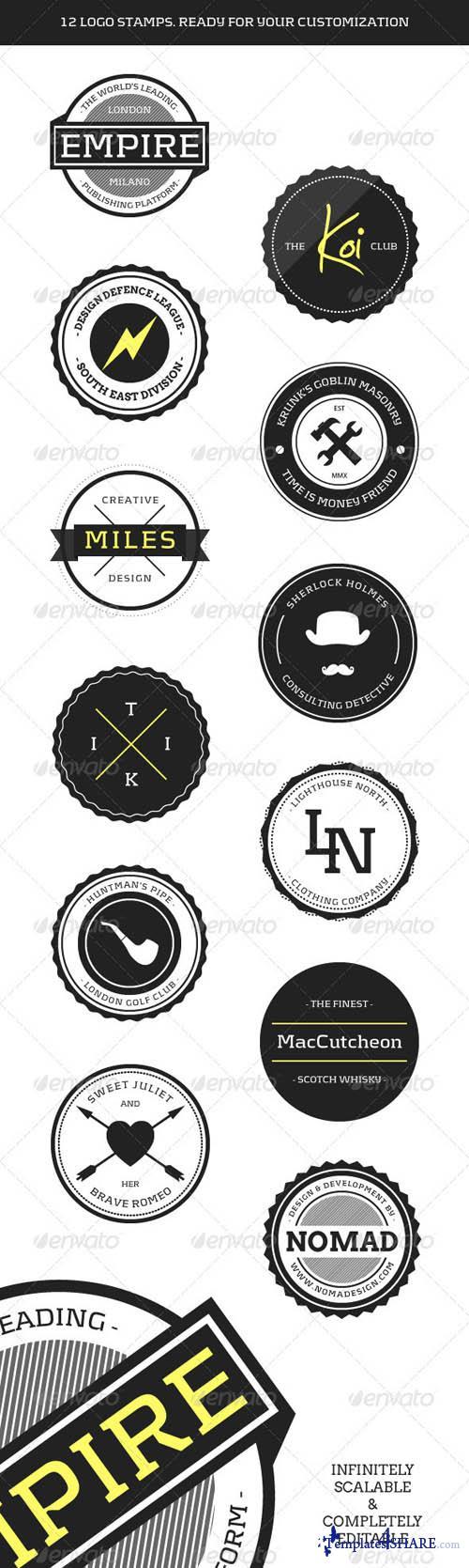 GraphicRiver Modern Web Badges - Round 2