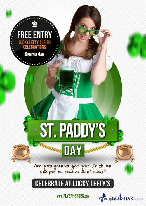 St Padd's Day Flyer Template