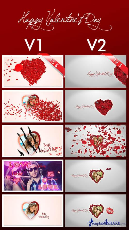 Roses and Valentine's Day - Project for After Effects (VideoHive)