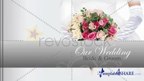 Wedding-photo-album - Project for After Effects (Revostock)
