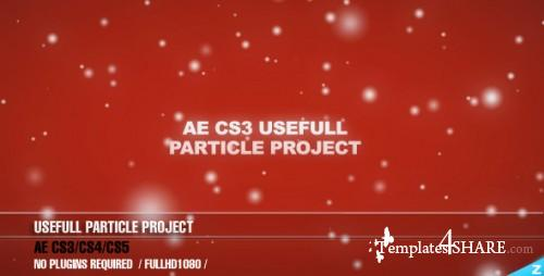 AE CS3 Useful Particle project - Project for After Effects (VideoHive)