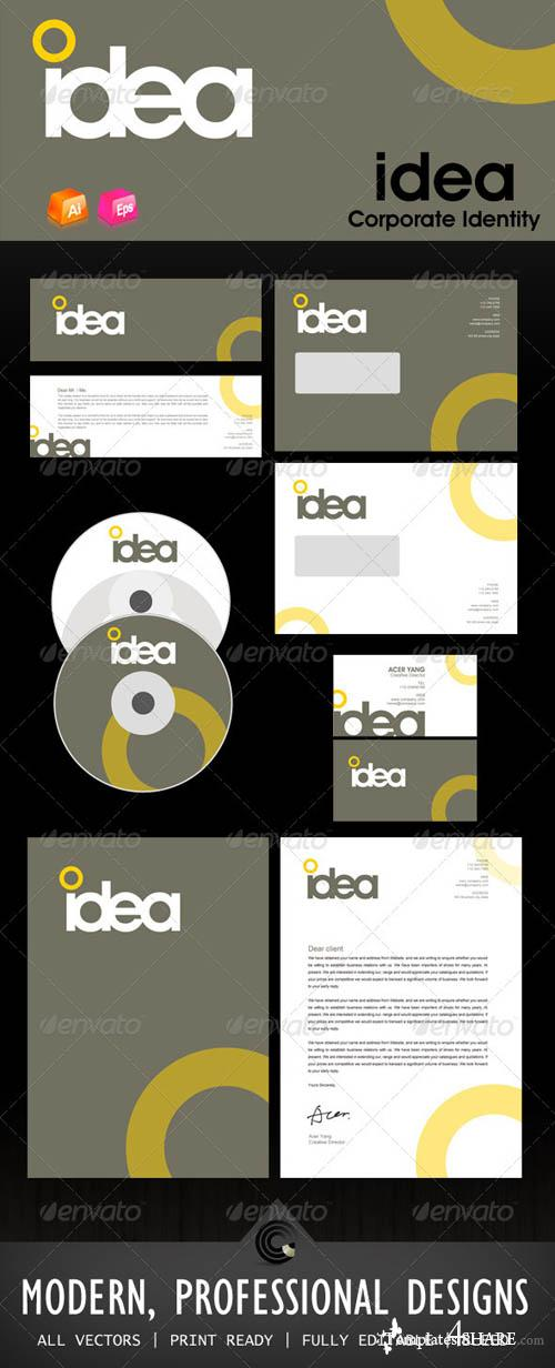 GraphicRiver Idea Design Corporate Identity