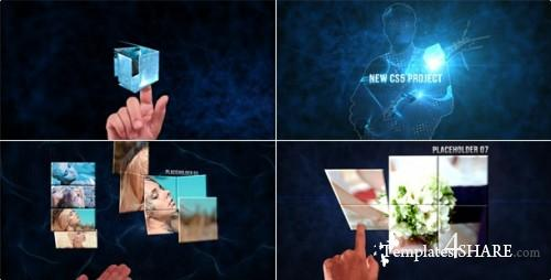 Cube - Touch Style - Project for After Effects (VideoHive)