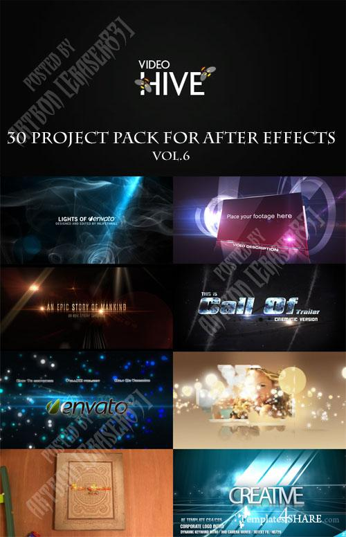 30 Project Pack for After Effects Vol.6 (Videohive) - REUPLOAD