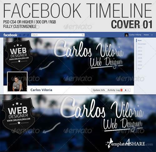 GraphicRiver Facebook Timeline Cover 01