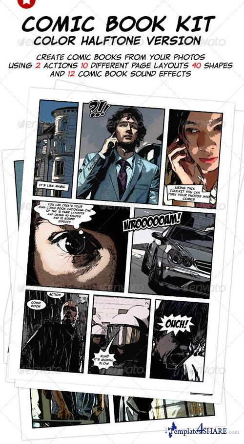 GraphicRiver Comic Book Creation Kit